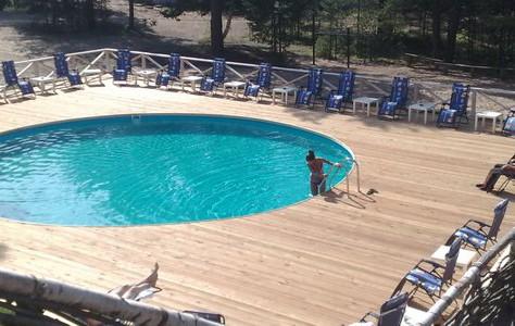 Сборно-станционарный бассейн