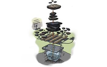 Оборудование для фонтана